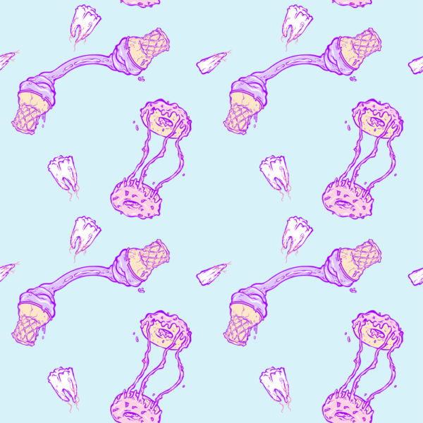 Glutton Glory Pattern Print